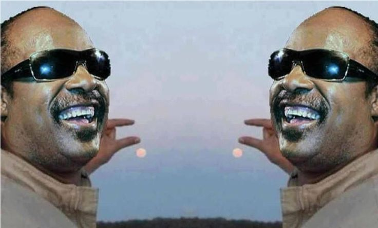 Stevie Wonder | Epic Fail Selfie