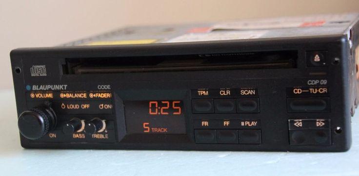 Blaupunkt CDP 09 Retro 80s Car CD Player Porsche Mercedes BMW Audi - Rare…