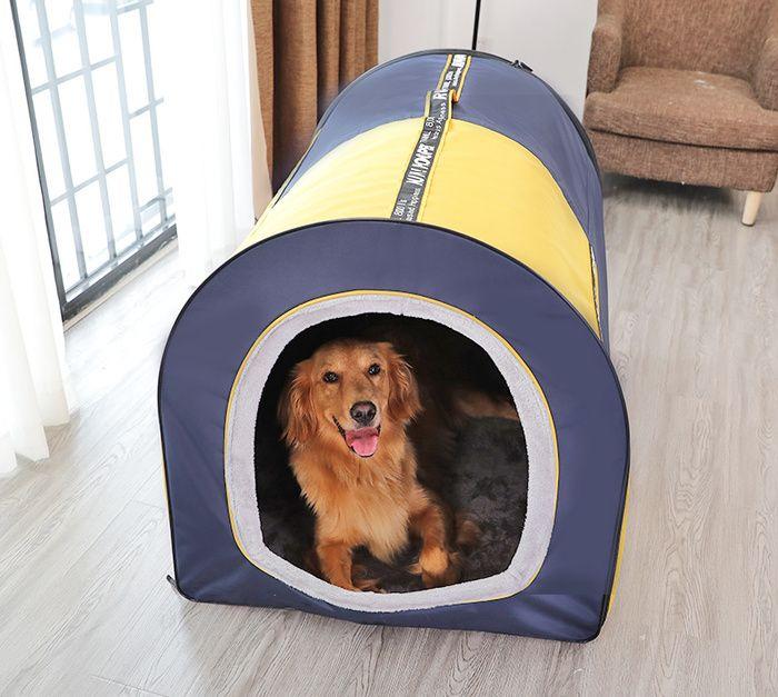Two Color Big Dog Tent Pet Labrador Husky Dog Warm Bed Pet Medium And Large Dog House Dog Tent Dog House Big Dogs