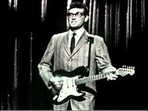 """Buddy Holly & The Crickets - Maybe Baby live 1958 on BBC's """"Off The Record""""."""