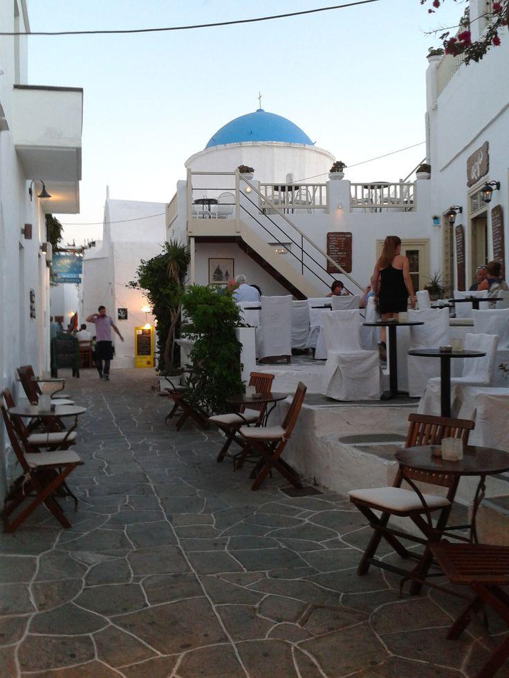 Sifnos, Apollonia alley.