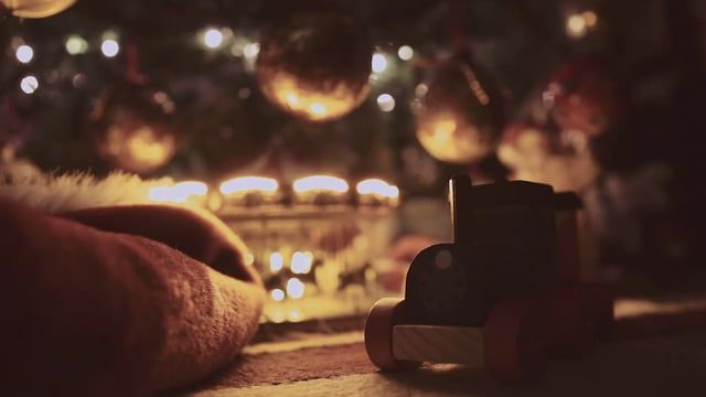 Shot this video last night under our Christmas tree.