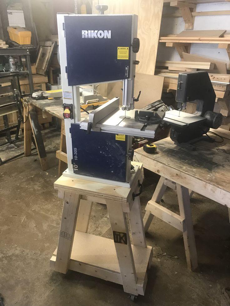 DIY bandsaw stand. Diy bandsaw, Diy workbench, Bandsaw
