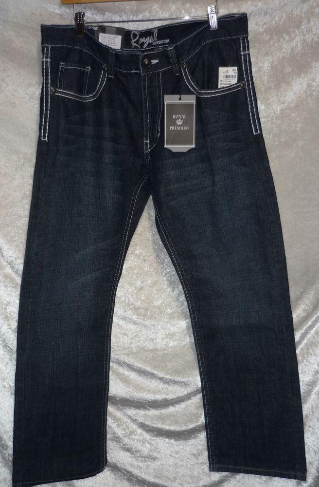 Royal premium slim straight waiter jeans men&39s sizes 30 32 33 38