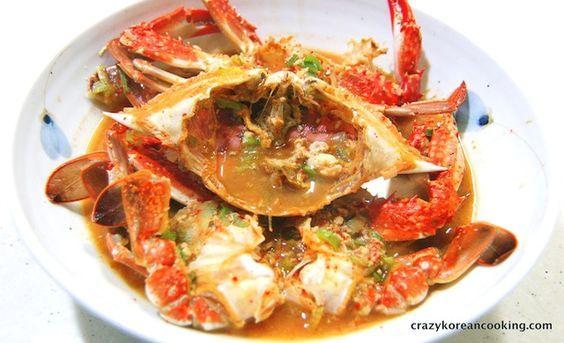 Best Authentic Flower Crab Stew Recipe, Kkotgeh-jjigae   Korean Recipe