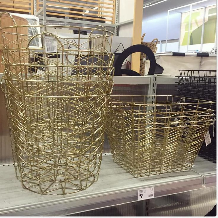Brass is the new copper! Thanks @i_heart_kmart for spotting these!! @kmartaus…