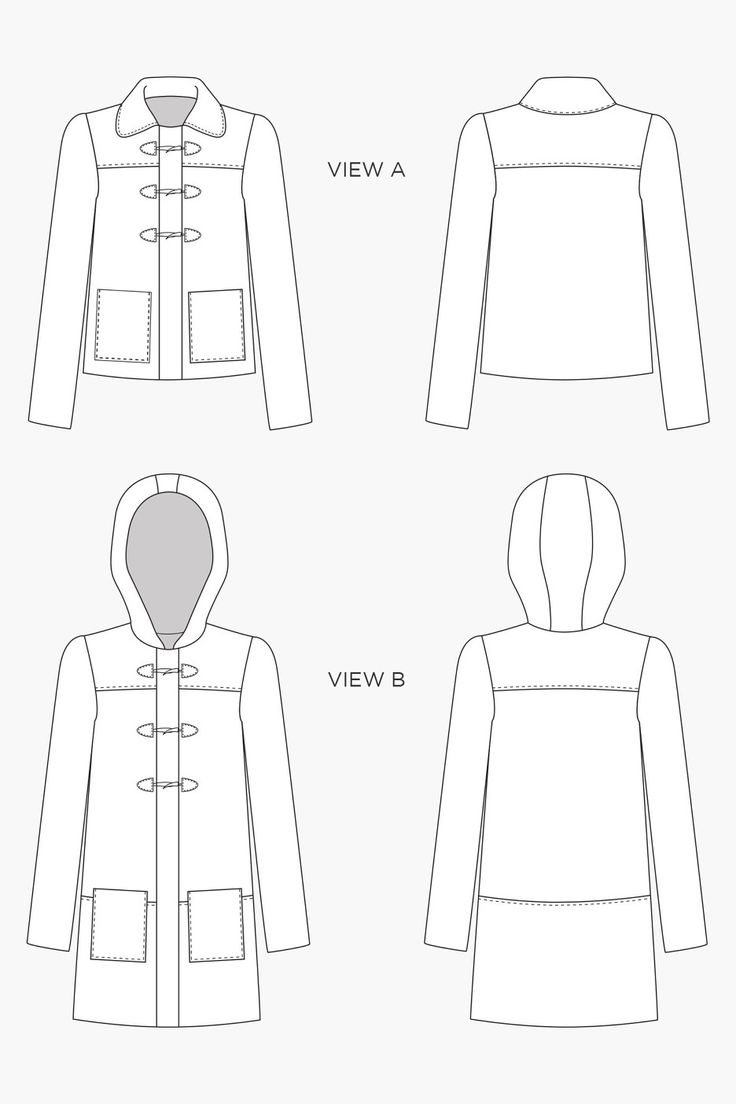 52 best Coats & Jackets to Sew images on Pinterest | Factory design ...