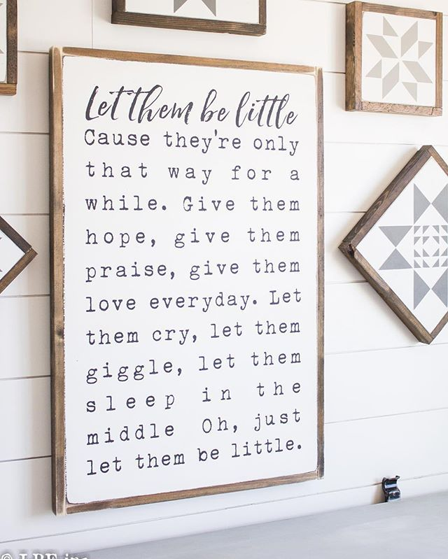 (Smaller version of this sign at Friday's restock!) My hands are covered in paint splinters and stain 99% of the time! Tonight my daughter Scarlett and I did at home gel mani and pedi's! Here's to having cute nails for the next 5 minuets!!  #woodsigns #farmhousedecor