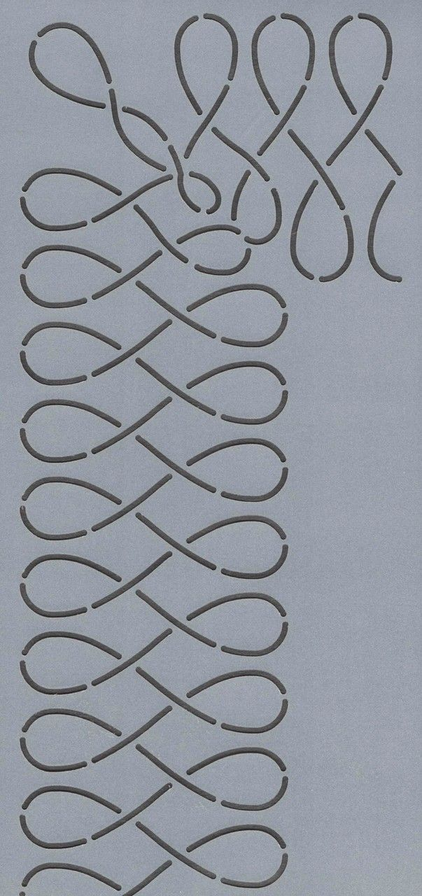 "Loops 3"" - The Stencil Company"