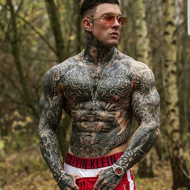 Hot Tattooed Men