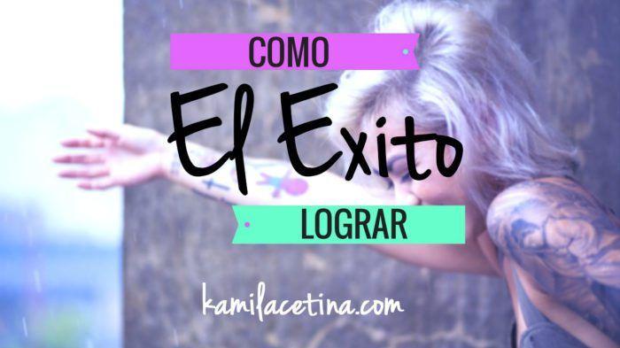 COMO LOGRAR EL EXITO!