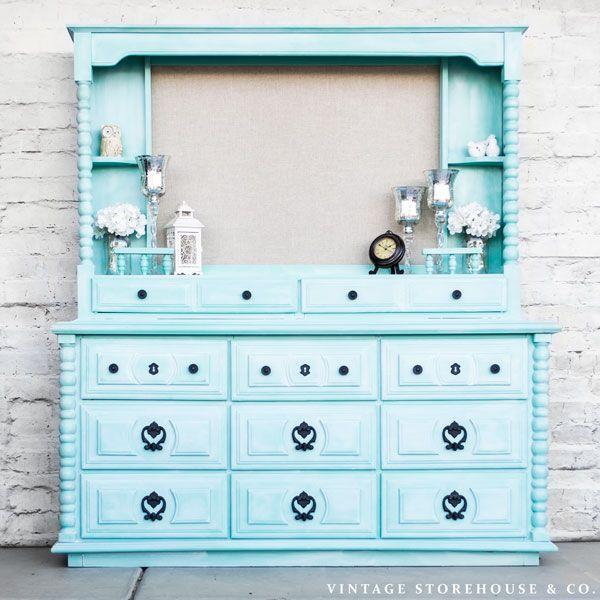Hometalk :: White Washed Dresser Re-do