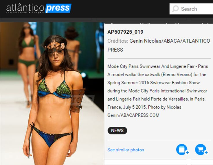 Thanks Atlântico Press Portugal for the publication of the Fashion Show in Paris!!! #eternoverano #uniquecollection #modecity2015 #paris #swimwear #beachwear #bikini #press #portugal