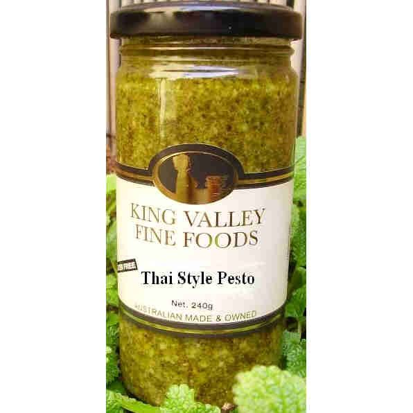 Thai Style Pesto 240g / Gluten Free by King Valley Fine Foods