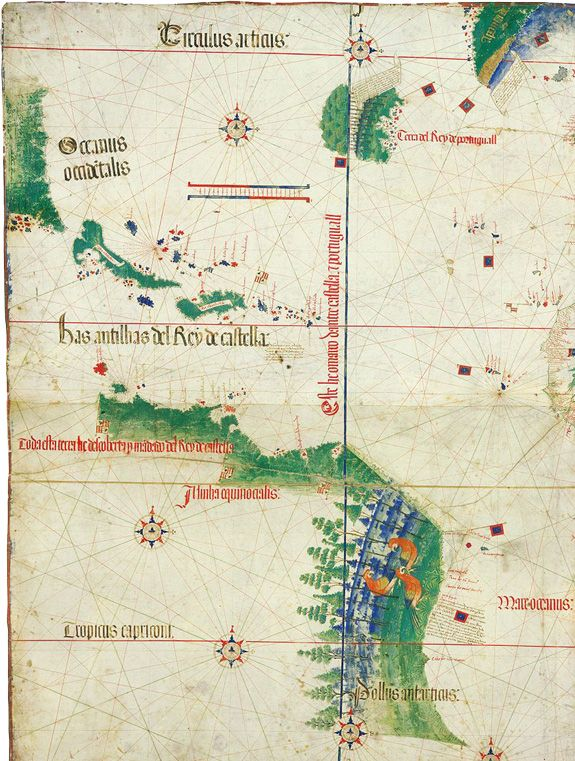 Crossing the Ocean Sea - Maps After Columbus