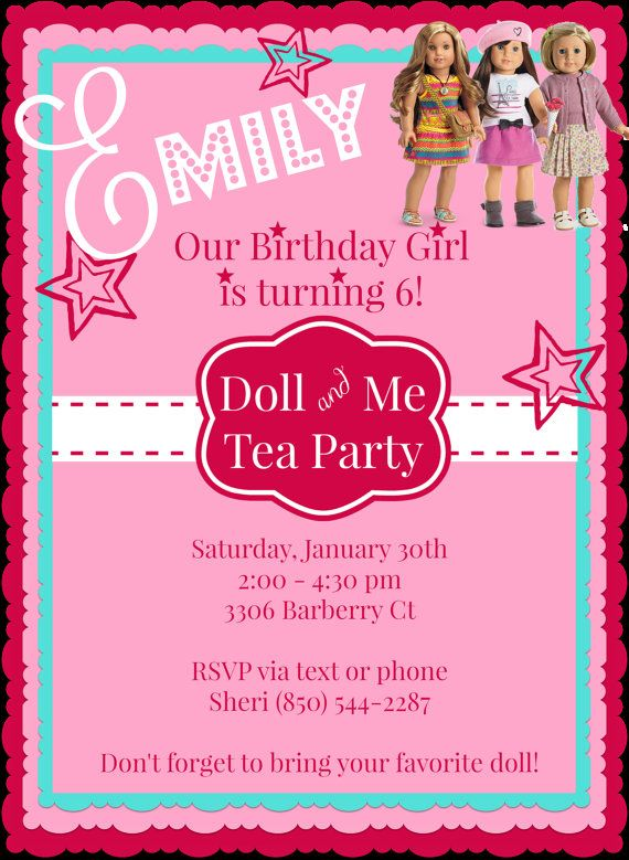 5x7 digital invitation custom created for you upon order. Please include party information in comments section when ordering. If you would like