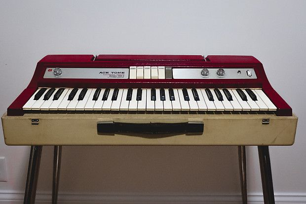 Vintage 1960s Ace Tone Top 5 Electric Piano Organ Stark Design Music Reverb Piano Electric Piano The Incredibles