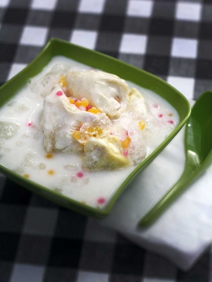 Foods of Nusantara: Soup Durian