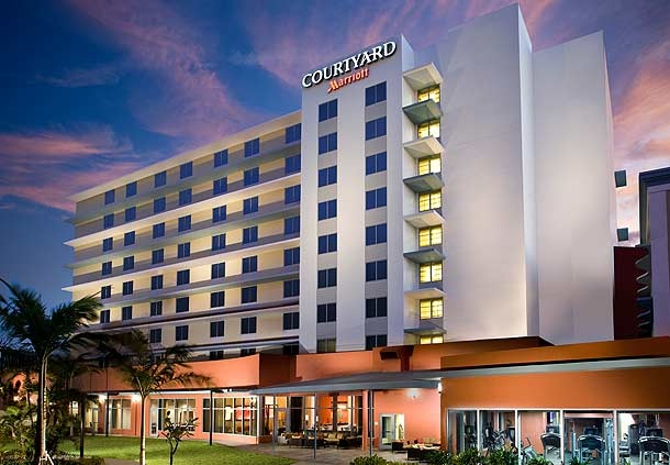 The Courtyard Marriott has designated an entire floor, 30 rooms total, as certified PURE Rooms for maximum comfort. #PureRooms #hotels