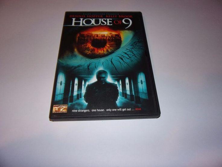 House of 9 (DVD) Dennis Hopper / Kelly Brook / Thriller
