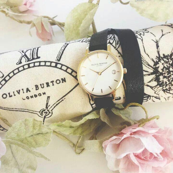 Olivia Burton Wrap Watch - a classic.with a twist
