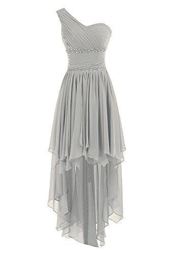 Juniors gray cocktail dress