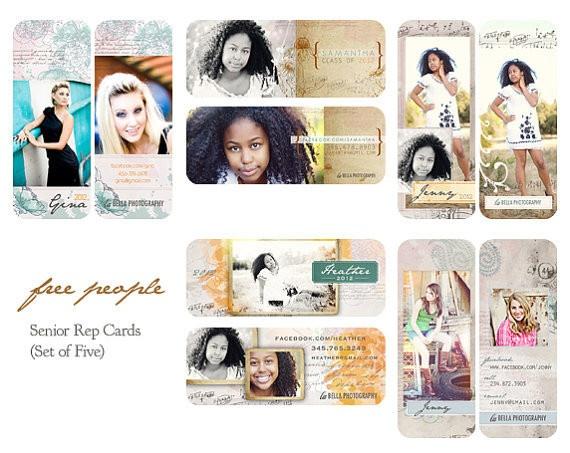 Free People - Senior Rep Cards