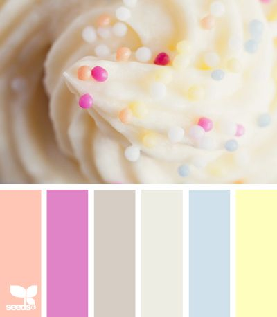 .: January Color, Design Seeds, Color Schemes, De Color, Cupcake Color Palettes, Ihp Dt, Dt Challenges, Color Challenges, Pastel Color
