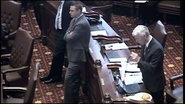 J.R. McBride Resolution Senate Floor 5-31-15