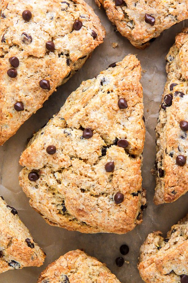 These chocolate chip scones are supremely moist, flavorful, and crunchy in all the right places.