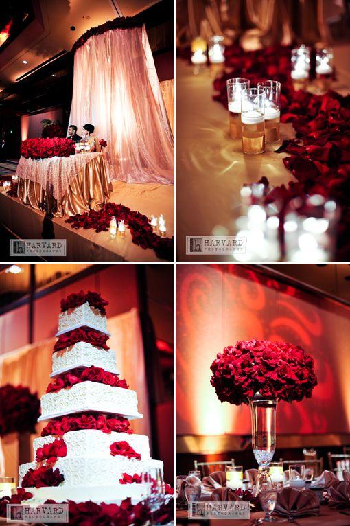 53 best wedding reception ideas images on pinterest floral red wedding junglespirit Gallery