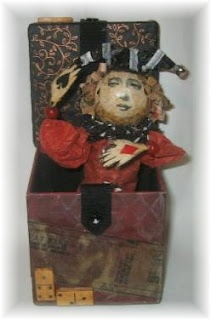 M Ann M: Jester Jack in the Box (made of paper)