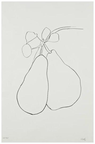 Ellsworth Kelly- Pear II