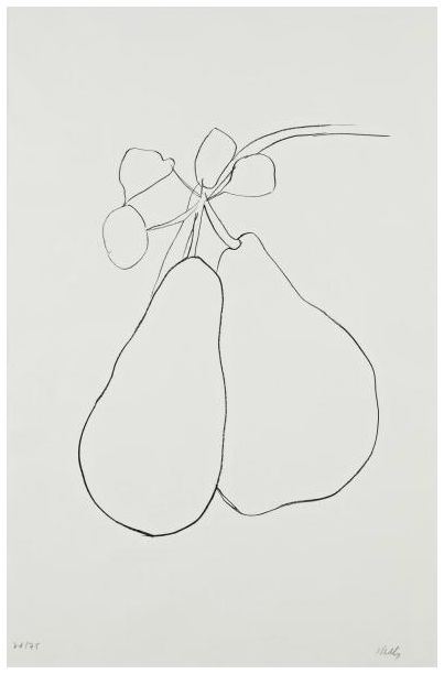 Ellsworth Kelly- Pear II