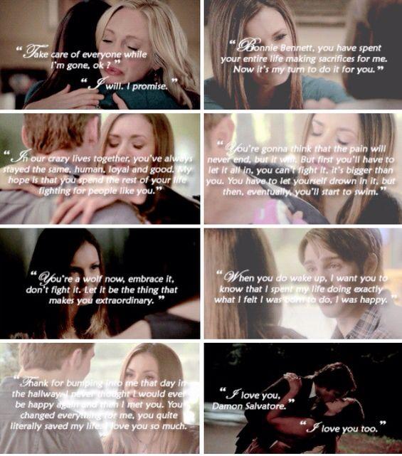Elena saying goodbye
