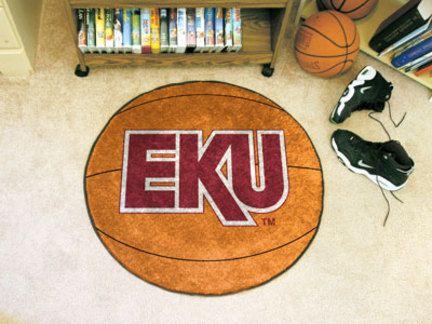 """27"""" Round Eastern Kentucky Colonels Basketball Mat"": For all those Eastern Kentucky… #SportingGoods #SportsJerseys #SportsEquipment"