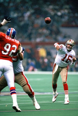Legendary 49ers quarterback Joe Montana naturally tops the list with three Super Bowl MVPs (XVI, XIX and XXIV).