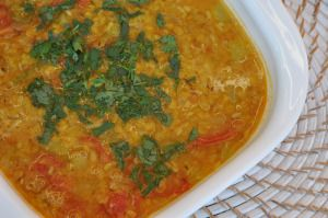 Lentils with Opo Squash (tried)
