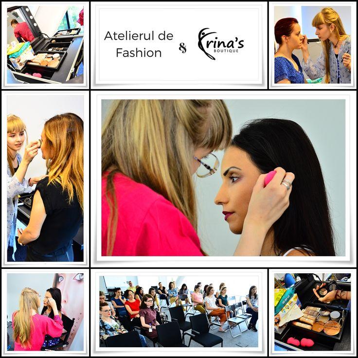A fost o mare placere sa petrecem cateva ore alaturi de niste oameni minunati in cadrul Atelierului de Fashion. Multumim, Oana Leoveanu! #irinasboutique #prestigecosmetics #makeup #beauty #atelieruldefashion