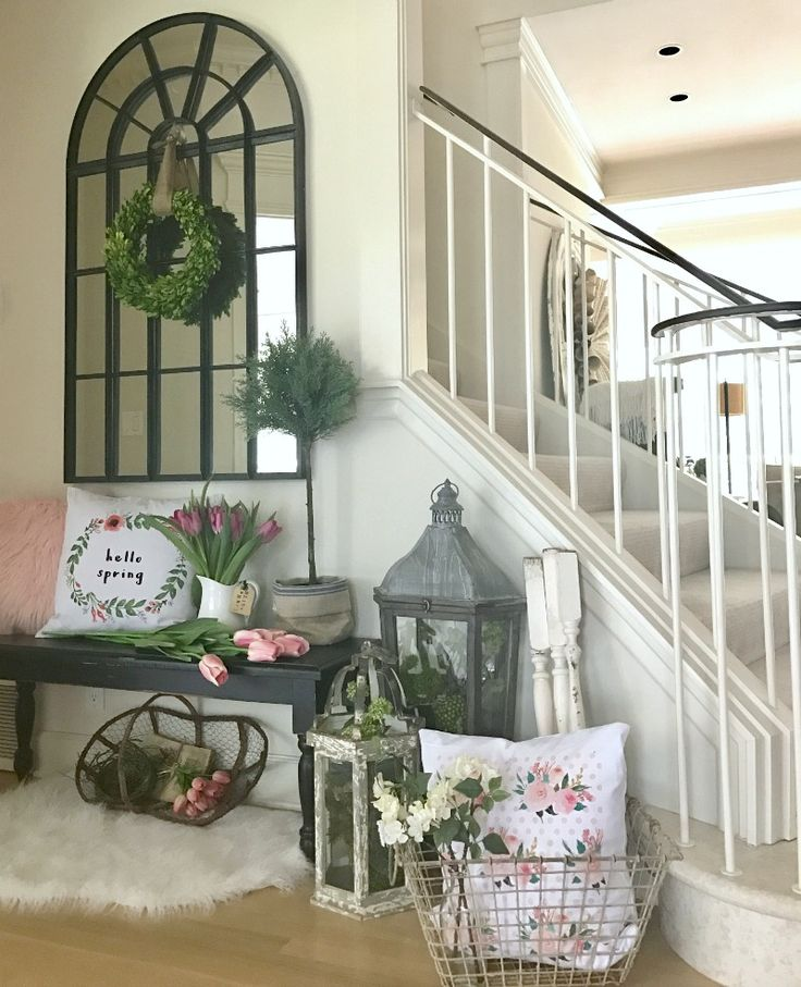 Front Entryway Decorating Ideas The Design Twins: Fresh Spring Decorating For Your Home