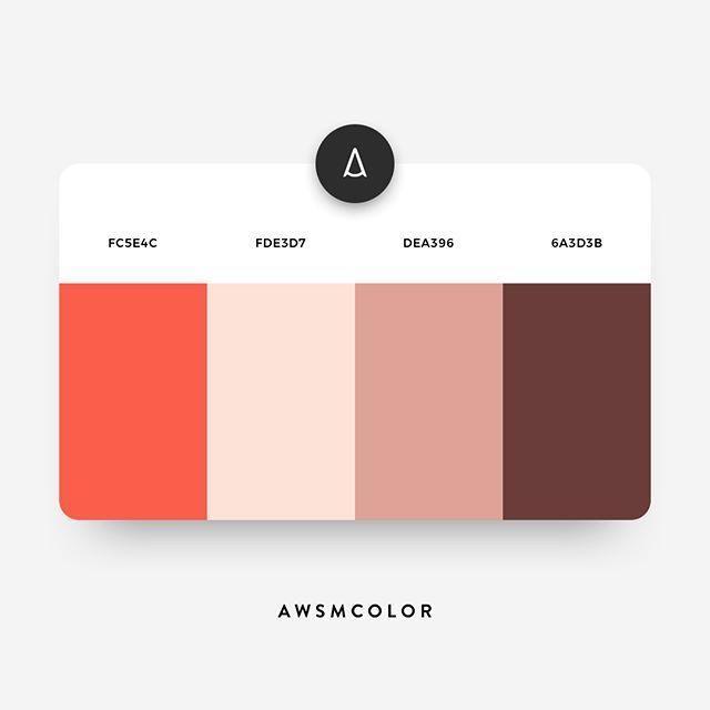 Color Schemes Website Color Schemes Flat Color Palette Color