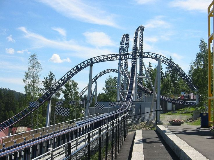 Speed Monster - from zero to 90 km/h in 2.2 seconds - at Tusenfryd, Vinterbro, Norway  http://earth66.com/rides/speed-monster-zero-90-kmh-2-2-seconds-tusenfryd-vinterbro-norway/