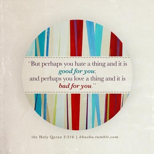 Quranic verse 2:216
