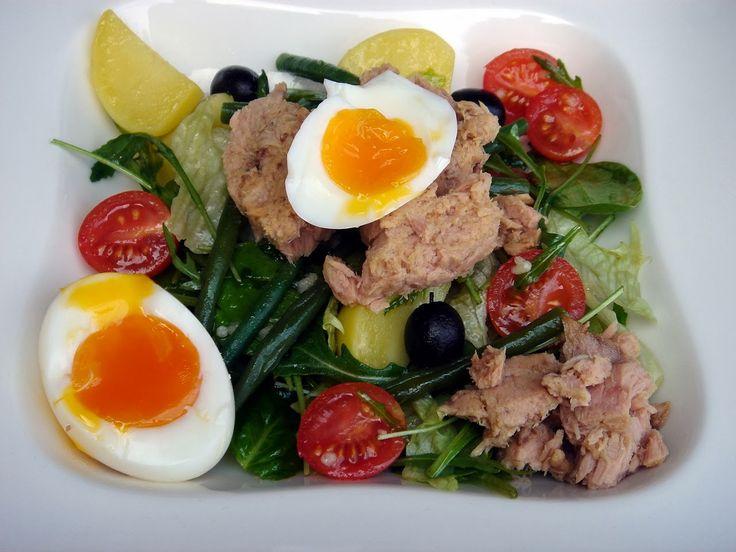 Nem vagyok mesterszakács: Nizzai saláta /salad nicoise/ 5 perces tojással