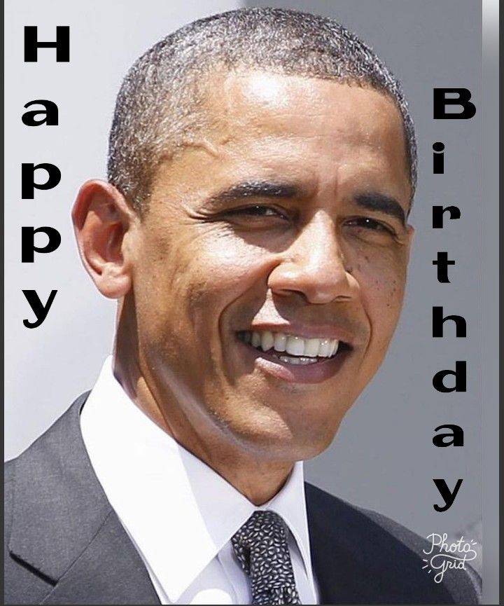 Happy 56 to our 44th August 4th. Happy birthday Mr. President and thank you for your service to this nation.