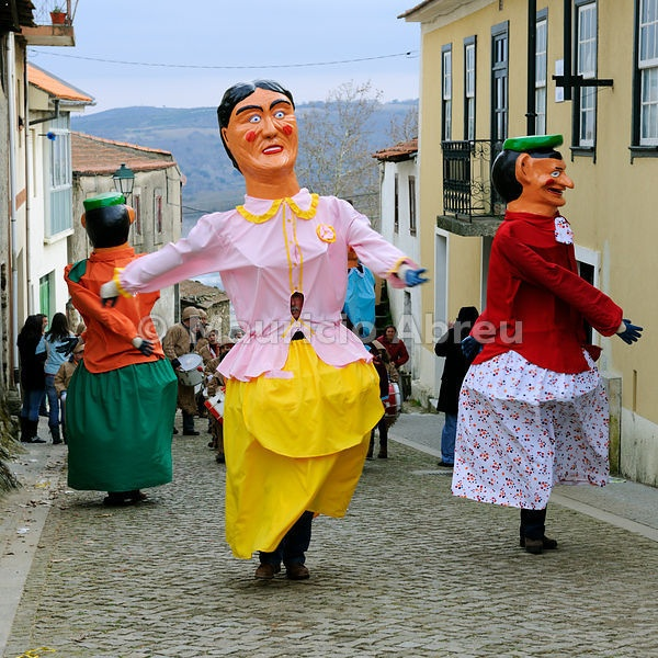 Traditional masks and carnival at Podence, Trás-os-Montes, Portugal