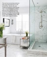 Luscious interiors | www.myLusciousLife.com - classic bath