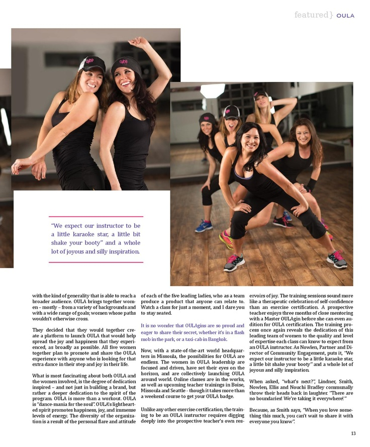 406 Woman Business Vol5 No 6 Dance Workout Fitness Inspiration Fitness