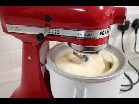 Testing Out the KitchenAid Ice-Cream Maker Attachment - Life in Notions