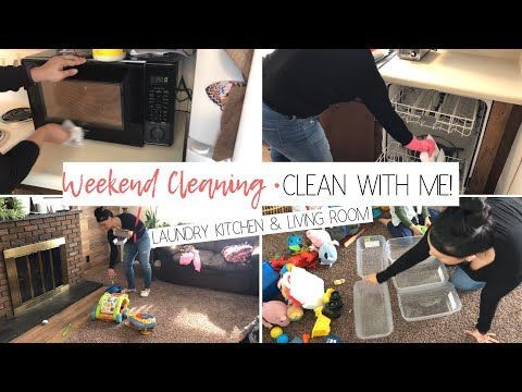 Morning Speed Clean Routine | Clean With Me | sahm morning clean up – YouTube